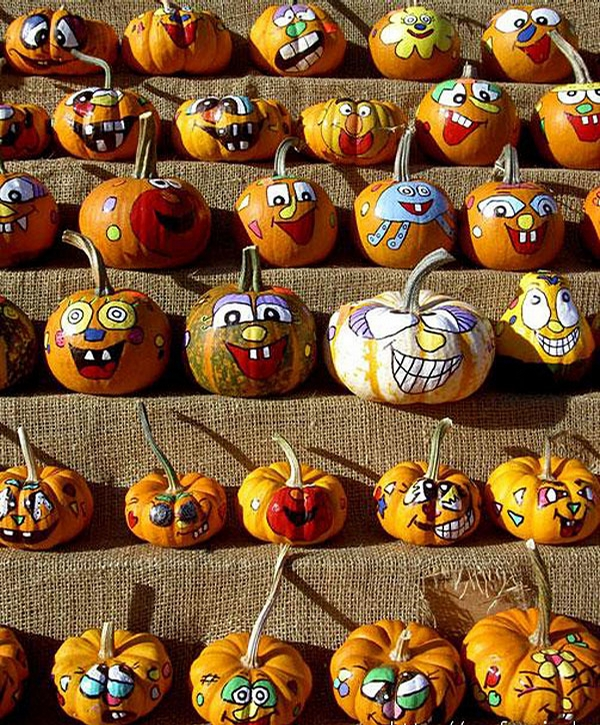 Happy Pumpkins picture