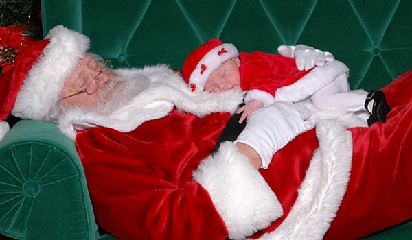 Santa and Son picture