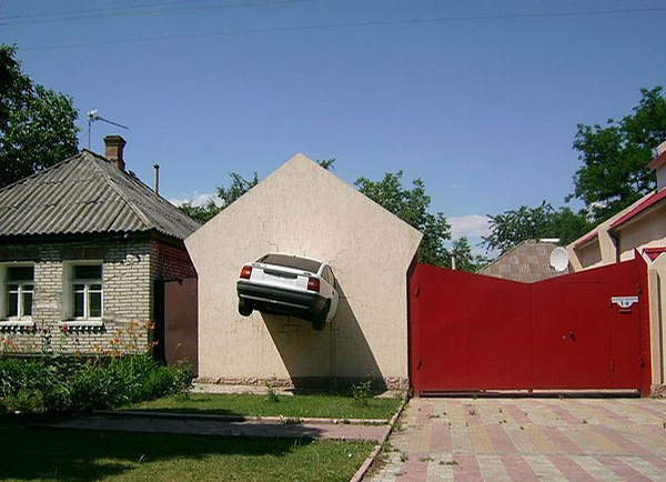 House with Car picture