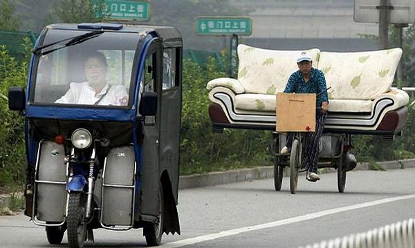 Comfortable Pedicab picture