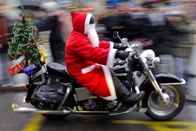 Santa the Biker picture