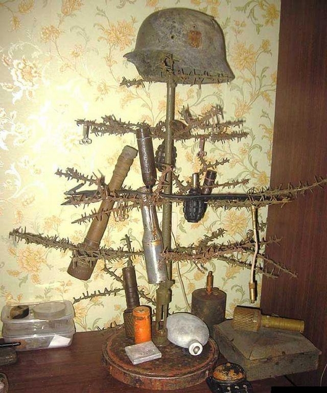 Military Christmas Tree picture