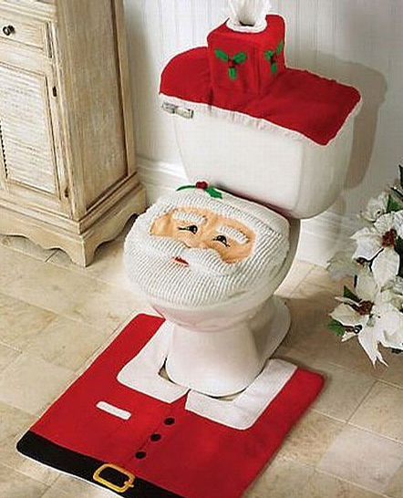 Xmas Toilet Set picture