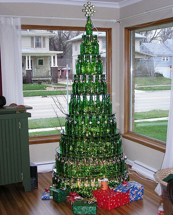 Beer Christmas Tree picture