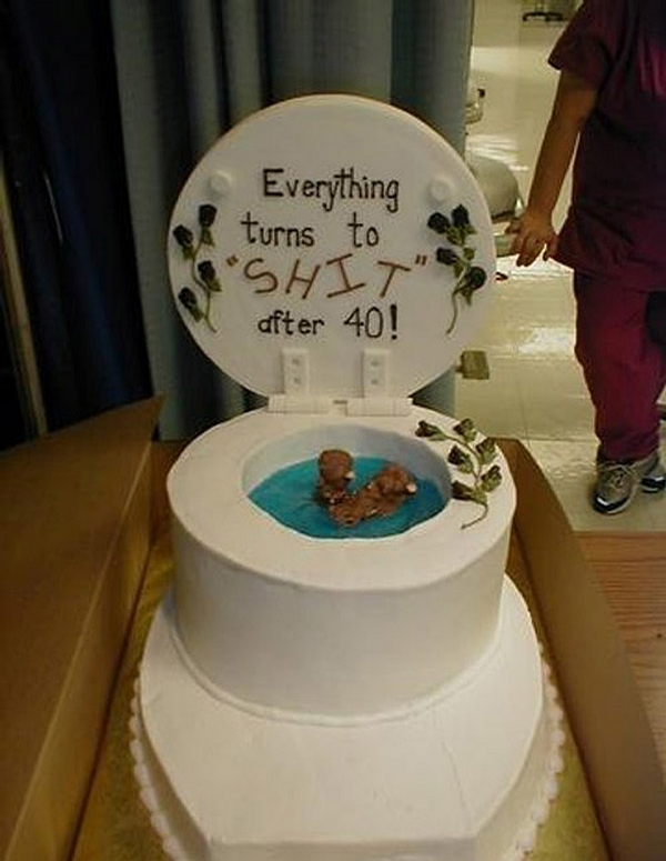 Funny B-day Cake picture