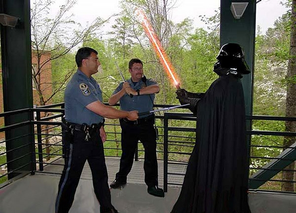 Lightsaber Fight picture