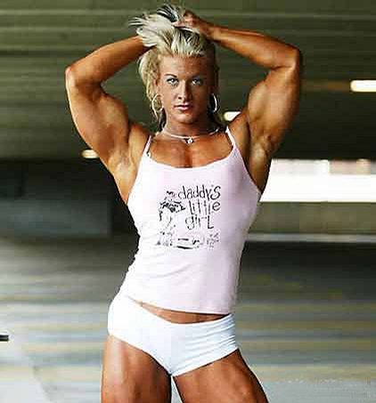 Muscle Woman picture