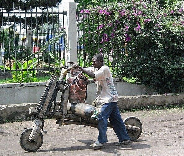 African MotorBike picture