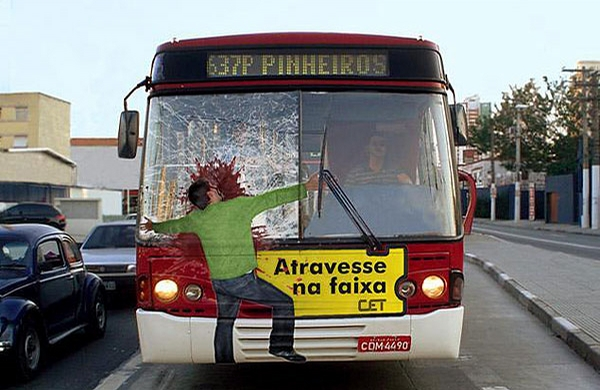 Funny Bus Ad picture