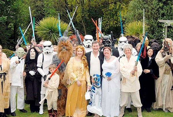 StarWars Wedding picture