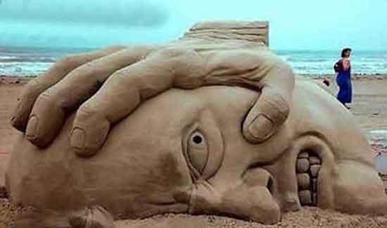 Sand Statue picture