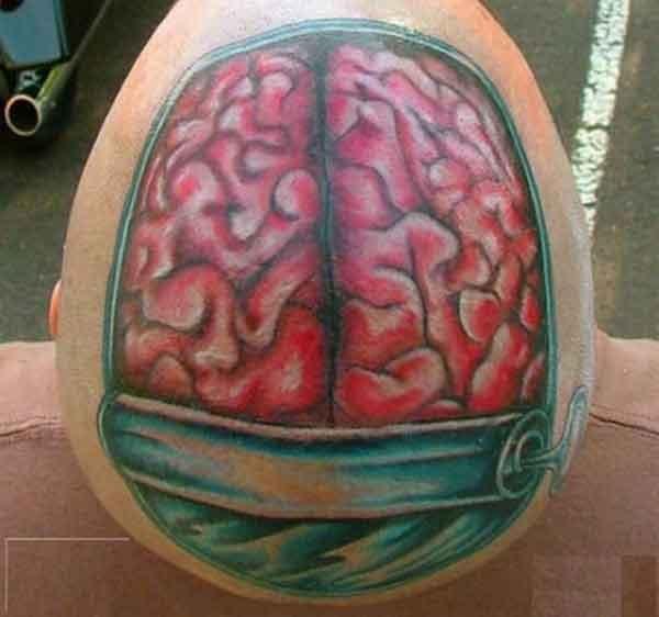 Brain Tattoo picture