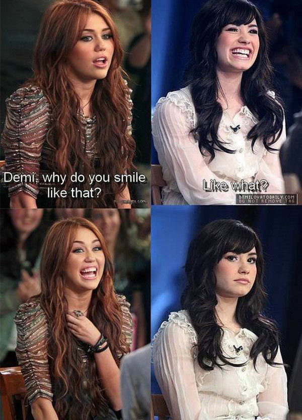 Demi Smile picture