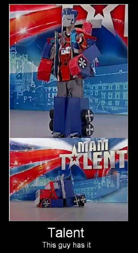 Transformers Talent picture