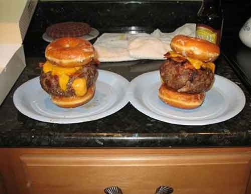 Donut Burger picture