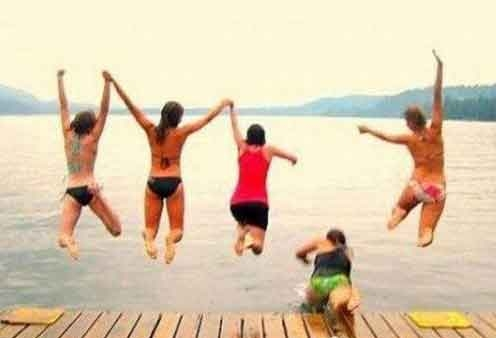 Funny Jump Fail picture