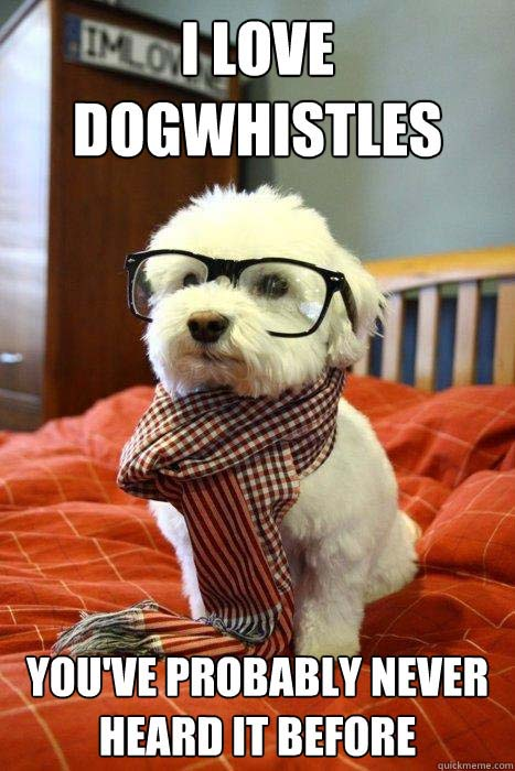 Hipster Dog picture
