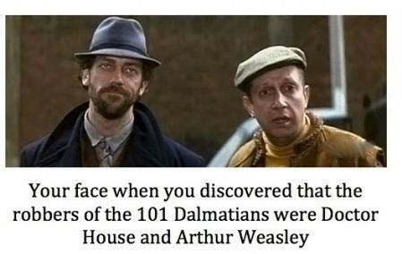 Doctor House and Arthur Weasley picture