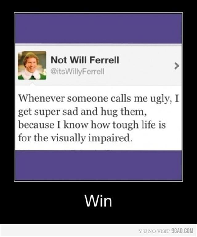 Ugly Will Ferrel picture
