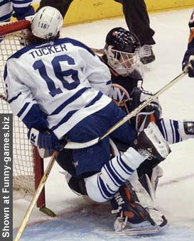 Tucker Osgood Hockey Collision picture