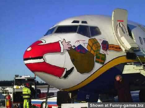 Santa Plane picture