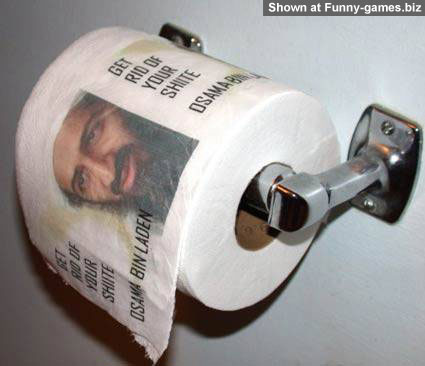 Osama Toilet Paper picture