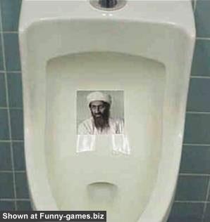 Bin Laden Toilet picture
