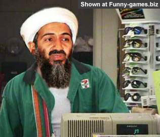 Osama shopping picture