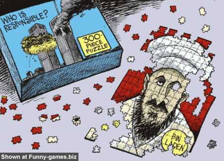 Bin Laden Puzzle picture
