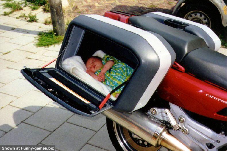 Biker Baby picture
