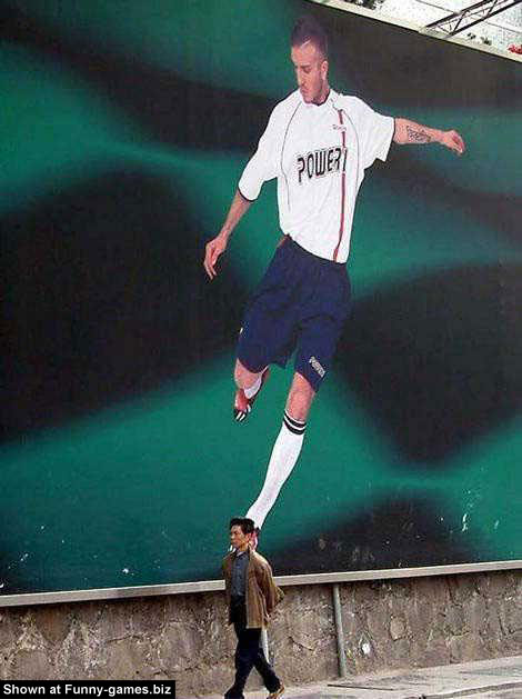 Beckham Fun Pic picture