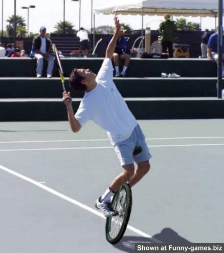 Funny Tennis Photo picture