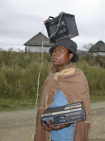 African MP3 Player picture