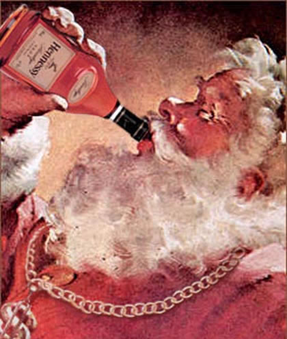 Santa And Hennessy picture