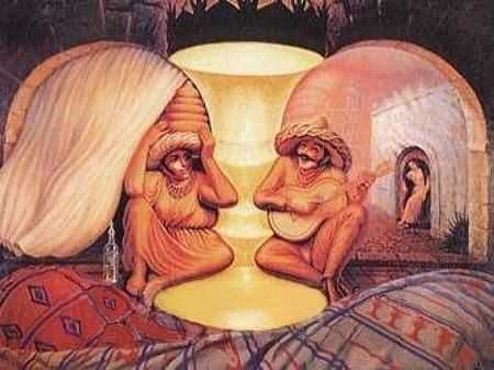 Old Couple Illusion picture