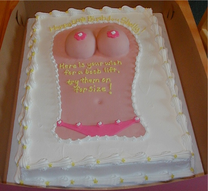 Cake With Breasts picture