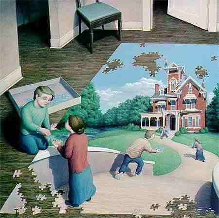 Puzzle Illusion picture