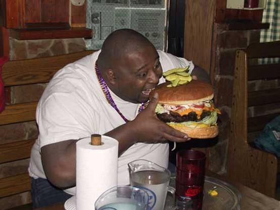 Huge Hamburger picture