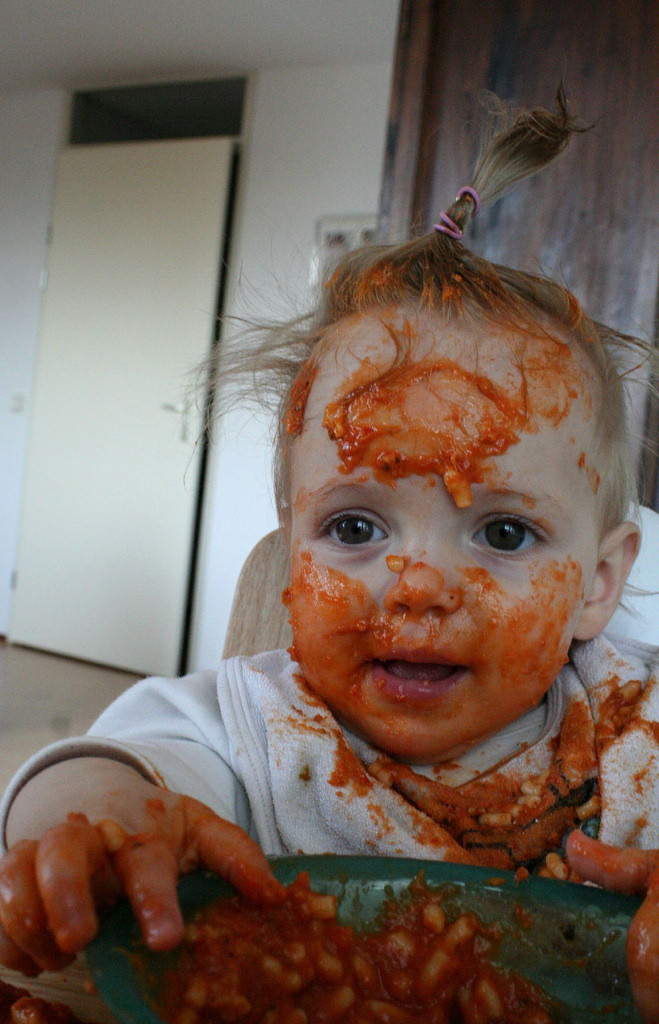 Messy Baby picture