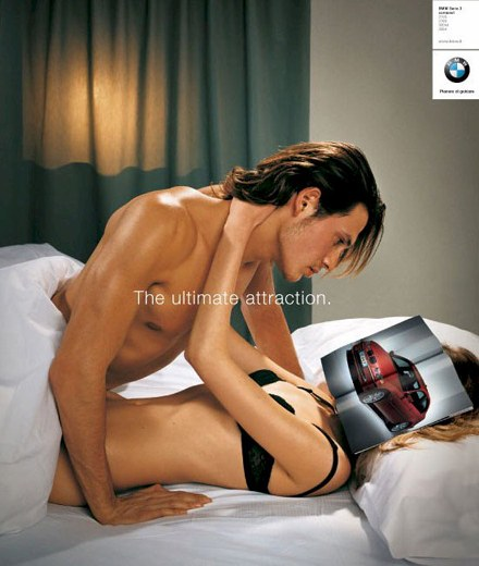 BMW Face Advert picture