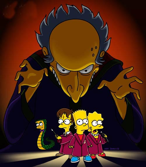 Harry Potter Simpsons picture