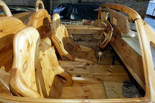 Wooden Car picture