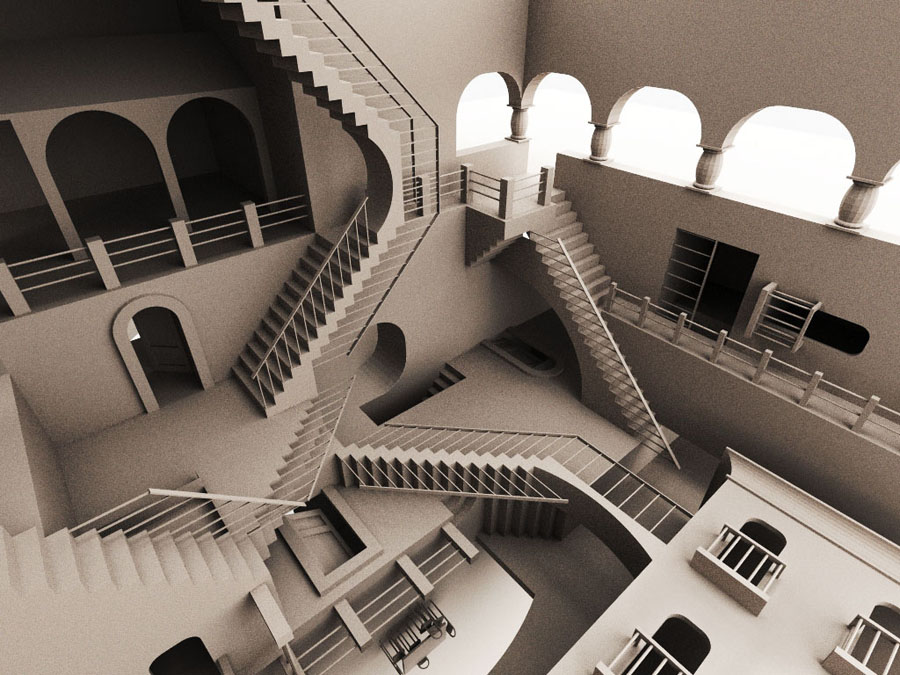 Stairs Everywhere picture