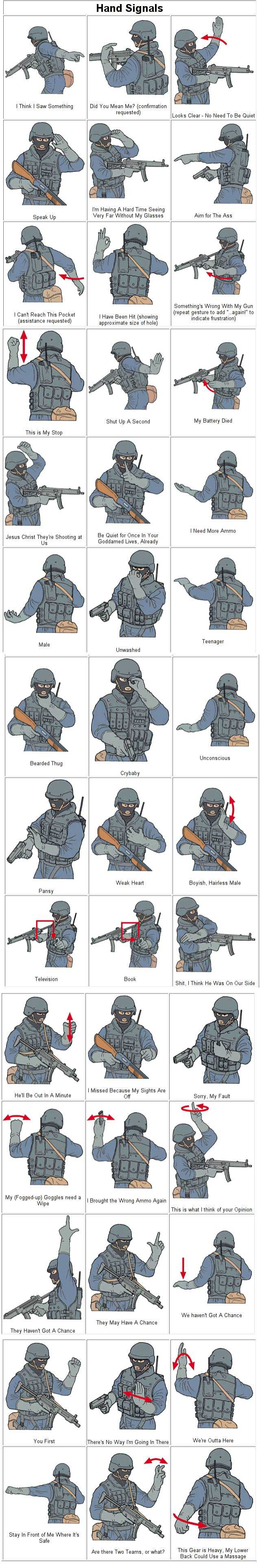 Hand Signals picture