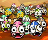 Create natural disasters and destroy all eggs on the screen.