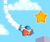 Fly your plane, collect stars and reach the final checkpoint.