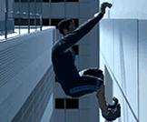 A 3D platform free running game