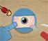 funny poke the eye skill game