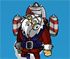 rocket santa collect game