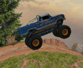 Survive crazy obstacle courses in this Multiplayer Monster Truck game.